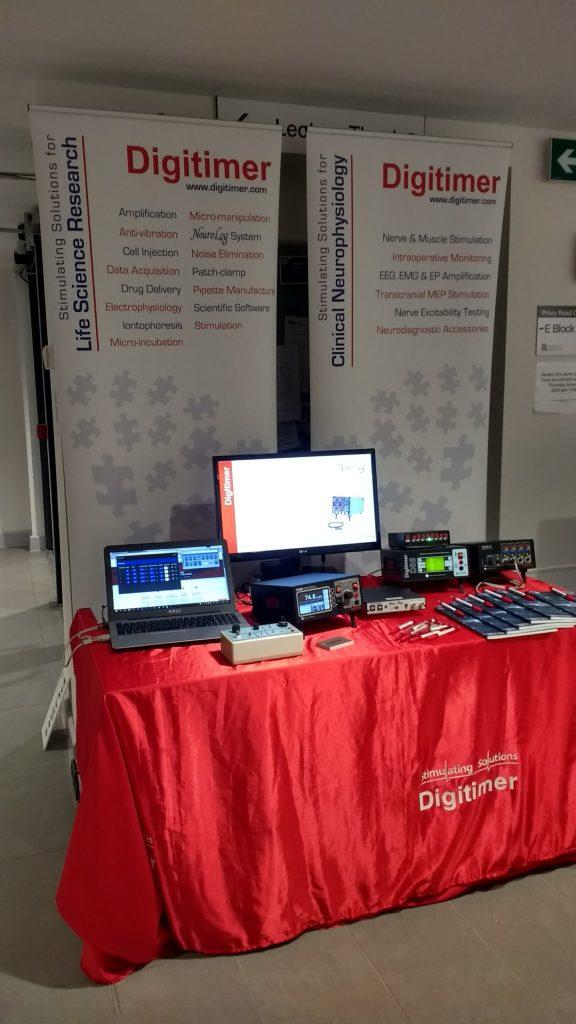 Digitimer Display at Sensory Motor Meeting